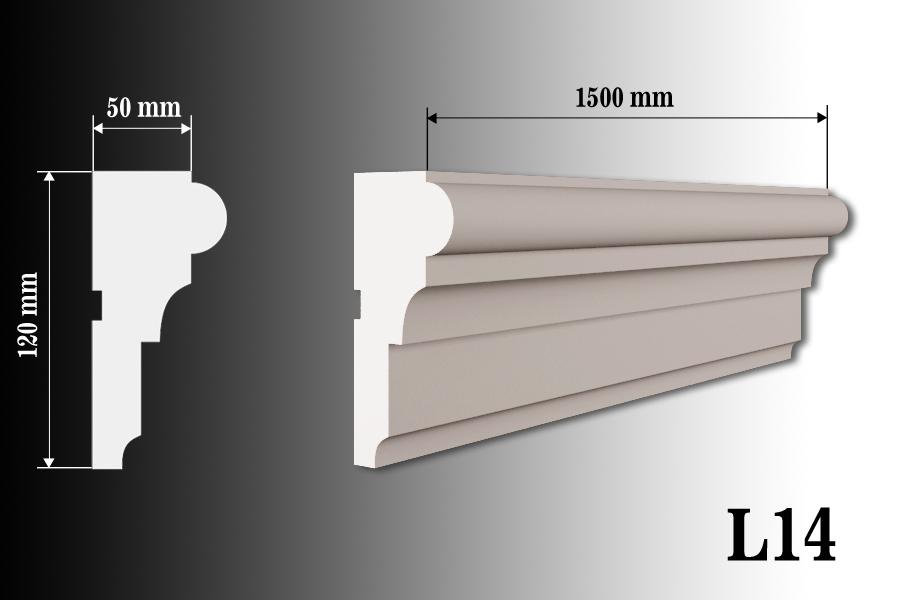 Listwa okienna L14