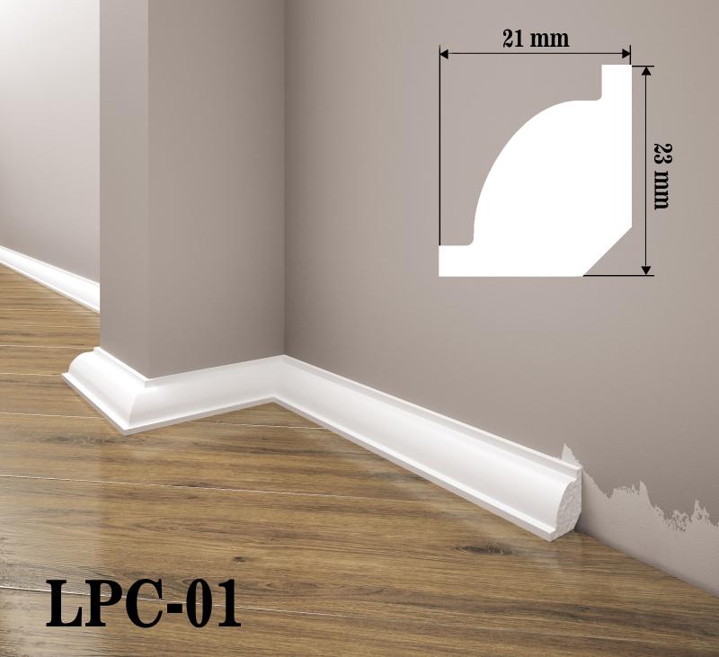 LISTWA PRZYPODŁOGOWA LPC-01