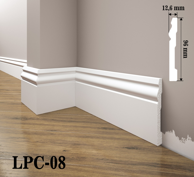 LISTWA PRZYPODŁOGOWA LPC-08