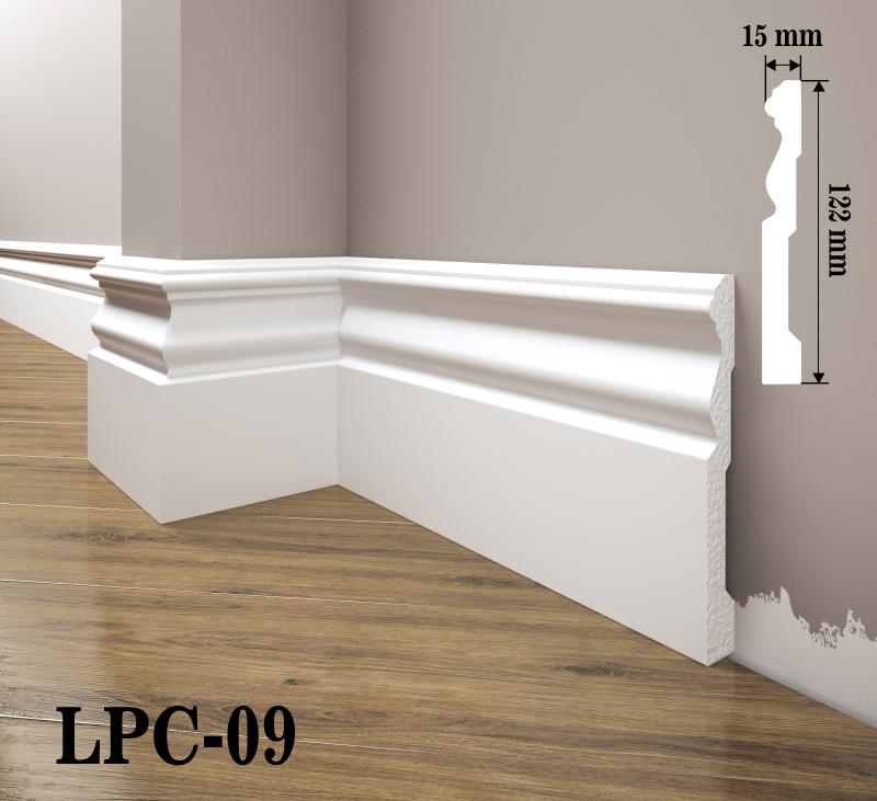 LISTWA PRZYPODŁOGOWA LPC-09
