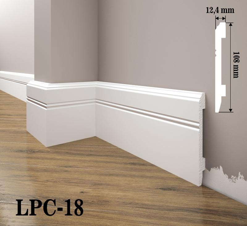LISTWA PRZYPODŁOGOWA LPC-18