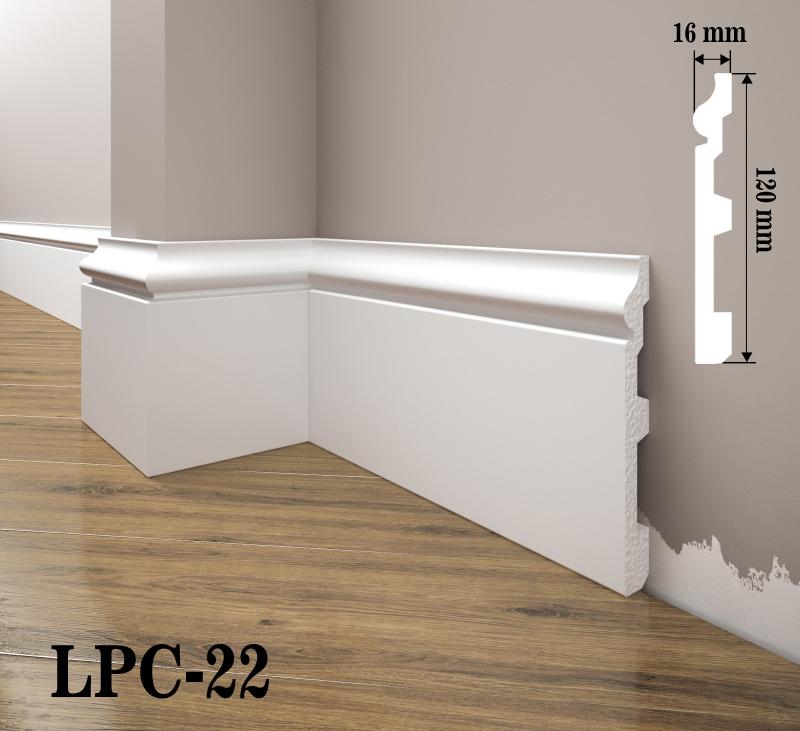 LISTWA PRZYPODŁOGOWA LPC-22