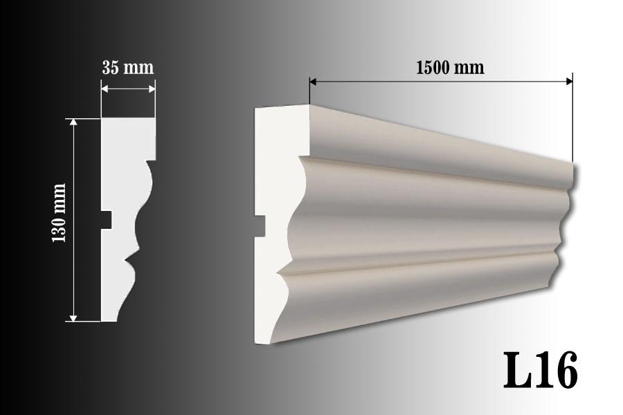 Listwa okienna L16